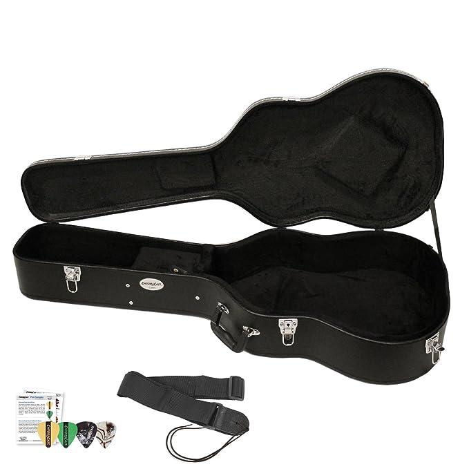Amazon.com: Estuche rígido para guitarra ChromaCast ...