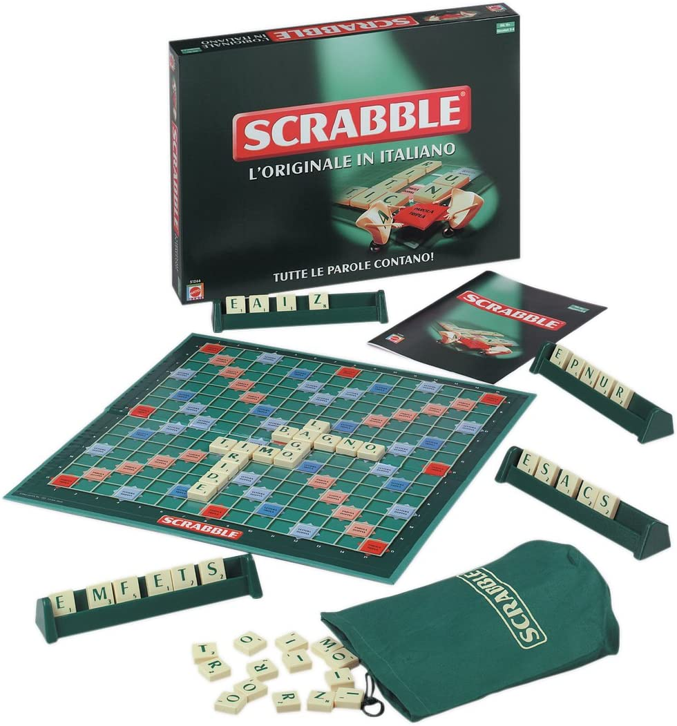 Mattel Games 51266 – Scrabble [Italiano]: Amazon.es: Juguetes y juegos
