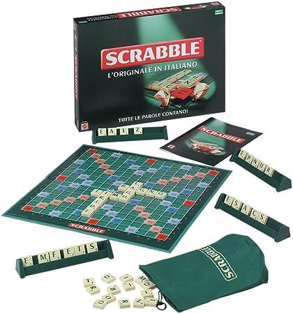 Amazon Com Mattel Scrabble Foreign Edition Italian Toys Games