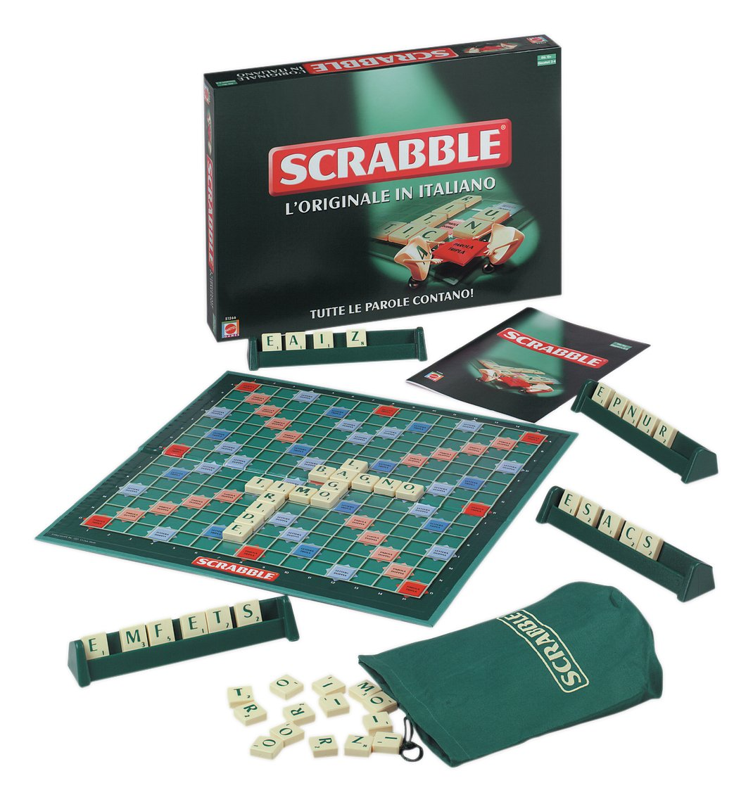 Venta barata Mattel Juegos 51266 – Scrabble [Italiano] [Italiano] [Italiano]  muchas concesiones