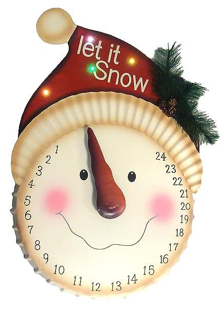 How Many Days Til Christmas.Sterling 31454502 20 In Led Lighted Days Til Christmas