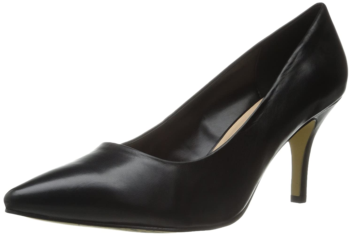 Bella Vita B00ZIC8OJO Women's Define Dress Pump B00ZIC8OJO Vita 6.5 N US|Black Leather 981cc5
