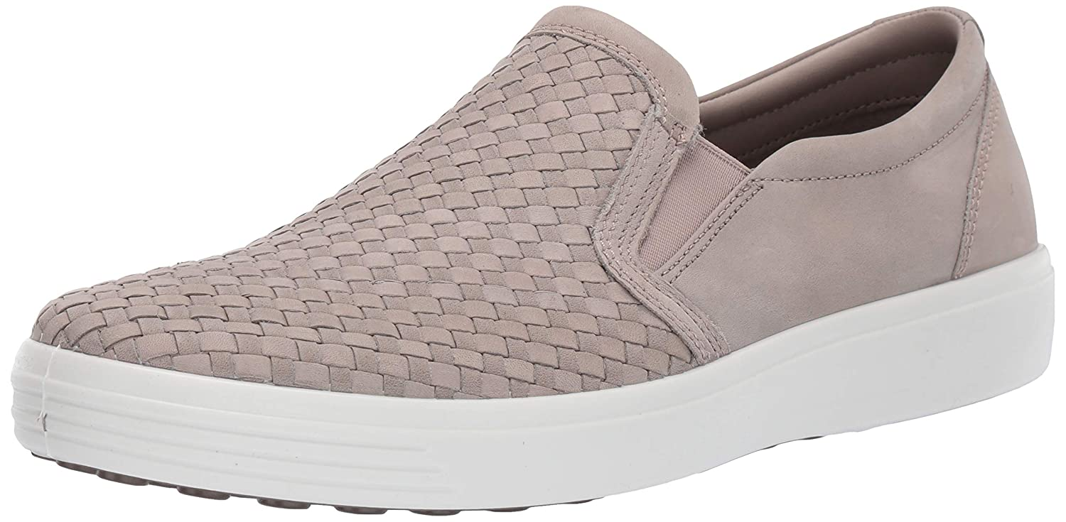 Moon Rock Plaited ECCO shoes Men's Soft 7 Woven Sneakers