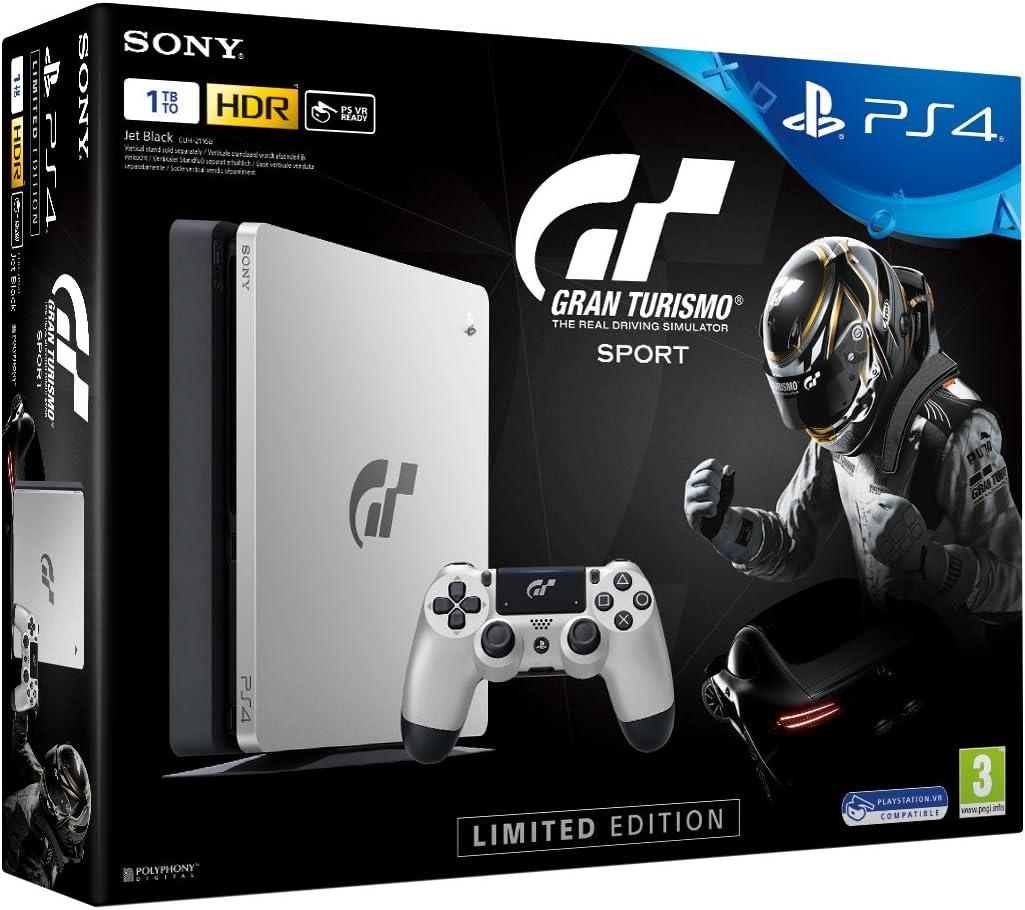 Nouvelle PS4 Silver 1To Edition Limitée + Gran Turismo Sport + Qui ...