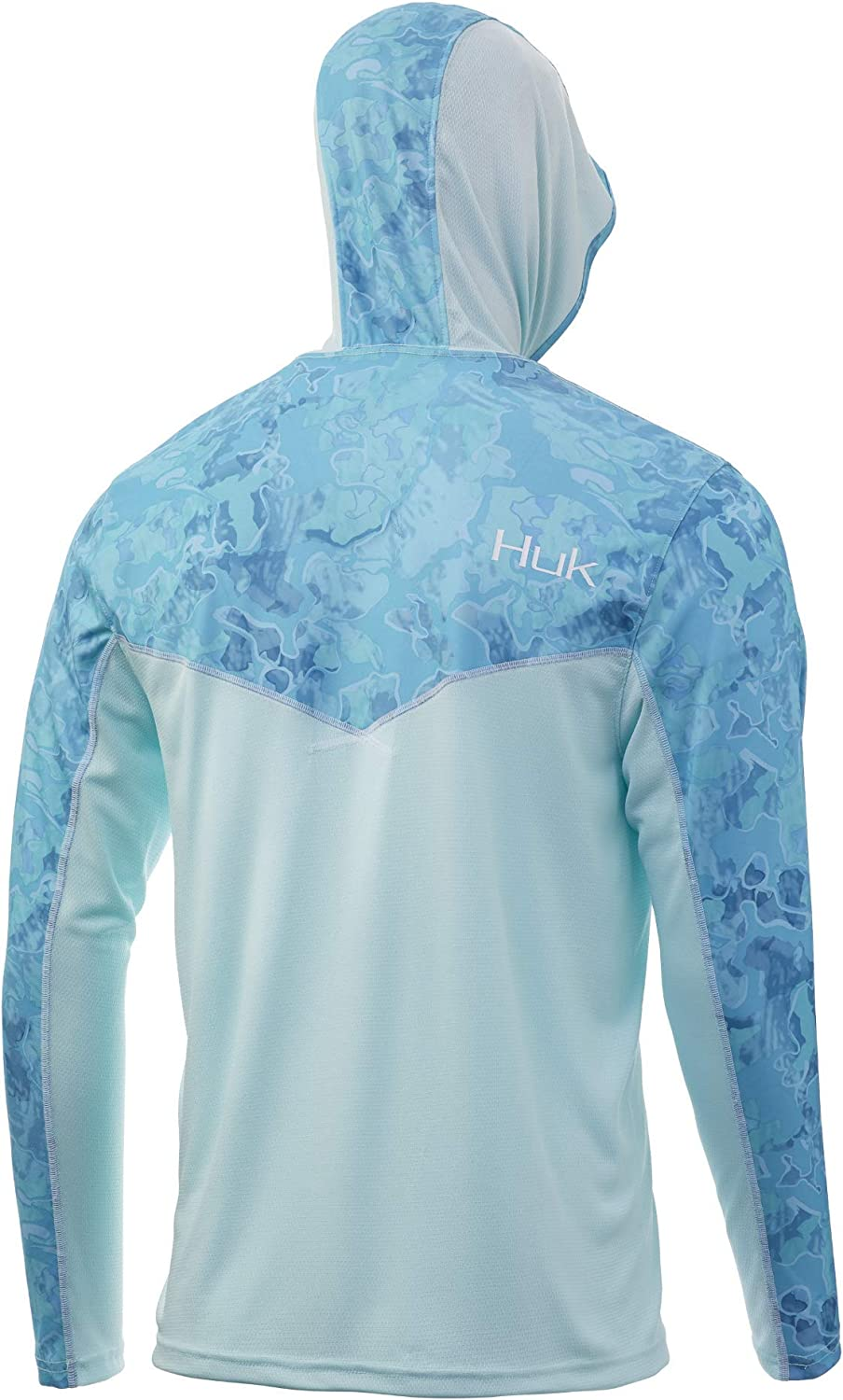 : HUK Men's Icon X Camo Hoodie: Clothing