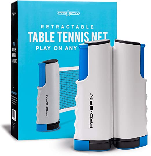PRO SPIN Portable Ping Pong Set - Best Portable Net