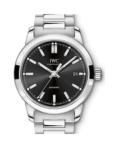 IWC Ingenieur Automático Negro Dial Mens Reloj iw357002: Amazon.es: Relojes