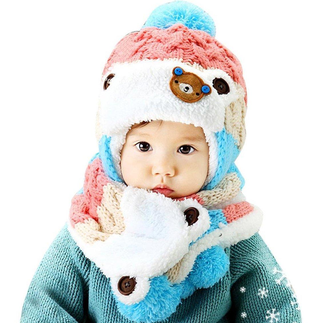 Bonnet long tombant en jersey pour enfant unisexe bas hiver chaud bonnet  tendance GBMU-Kamel-M Idées cadeaux de Noël eda2ae8cb0f