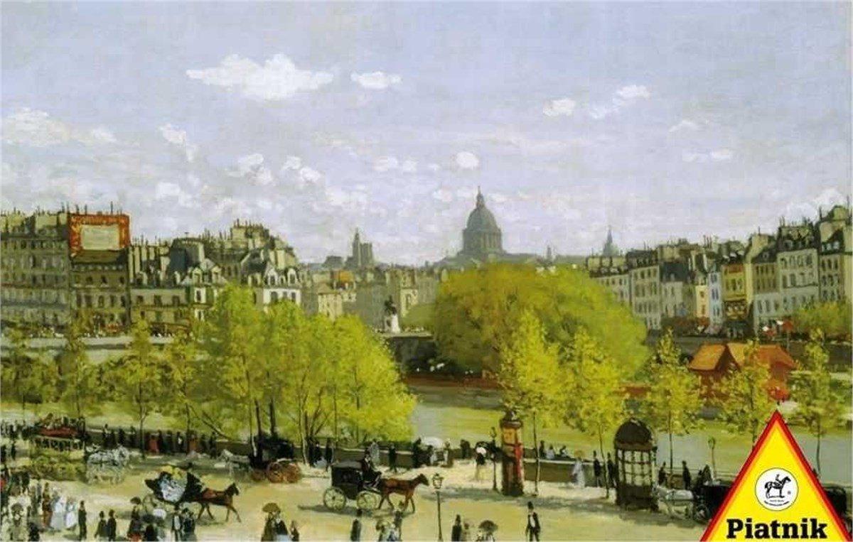Piatnik 5383 - Monet, Quai du Louvre, Paris - Puzzle