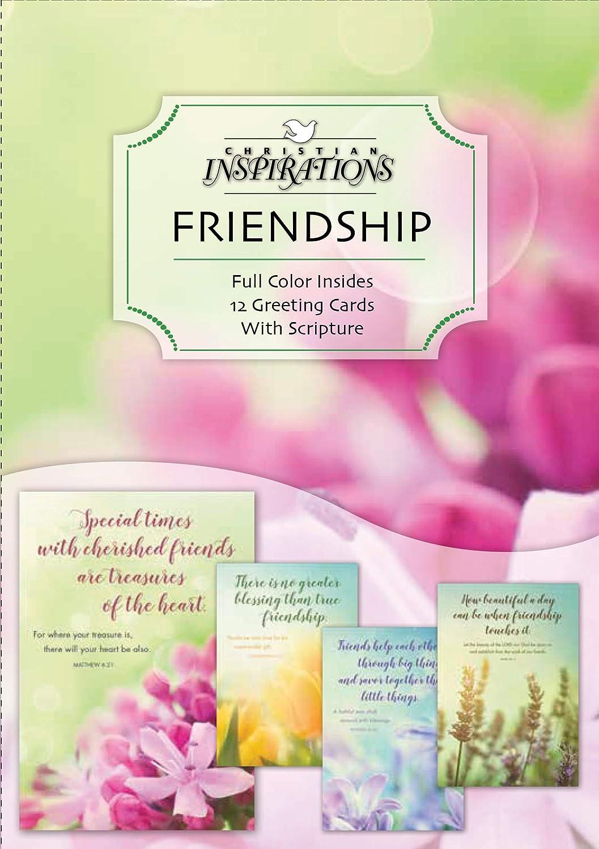 Amazon Garden Blooms Friendship Greeting Cards Kjv
