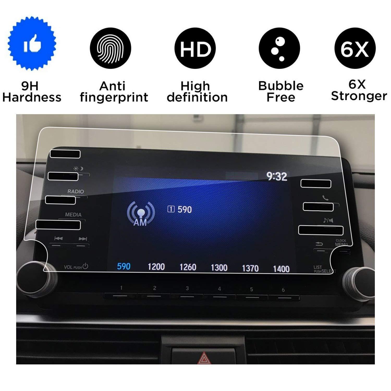 "(7Holes) 2018 2019 Honda Accord Screen Protector,Tempered Glass Screen Protector for Honda Accord,Wonderfulhz,9H Hardness,Anti Fingerprint,High Definition,Honda 7"" Car Center Touch Screen Protector"