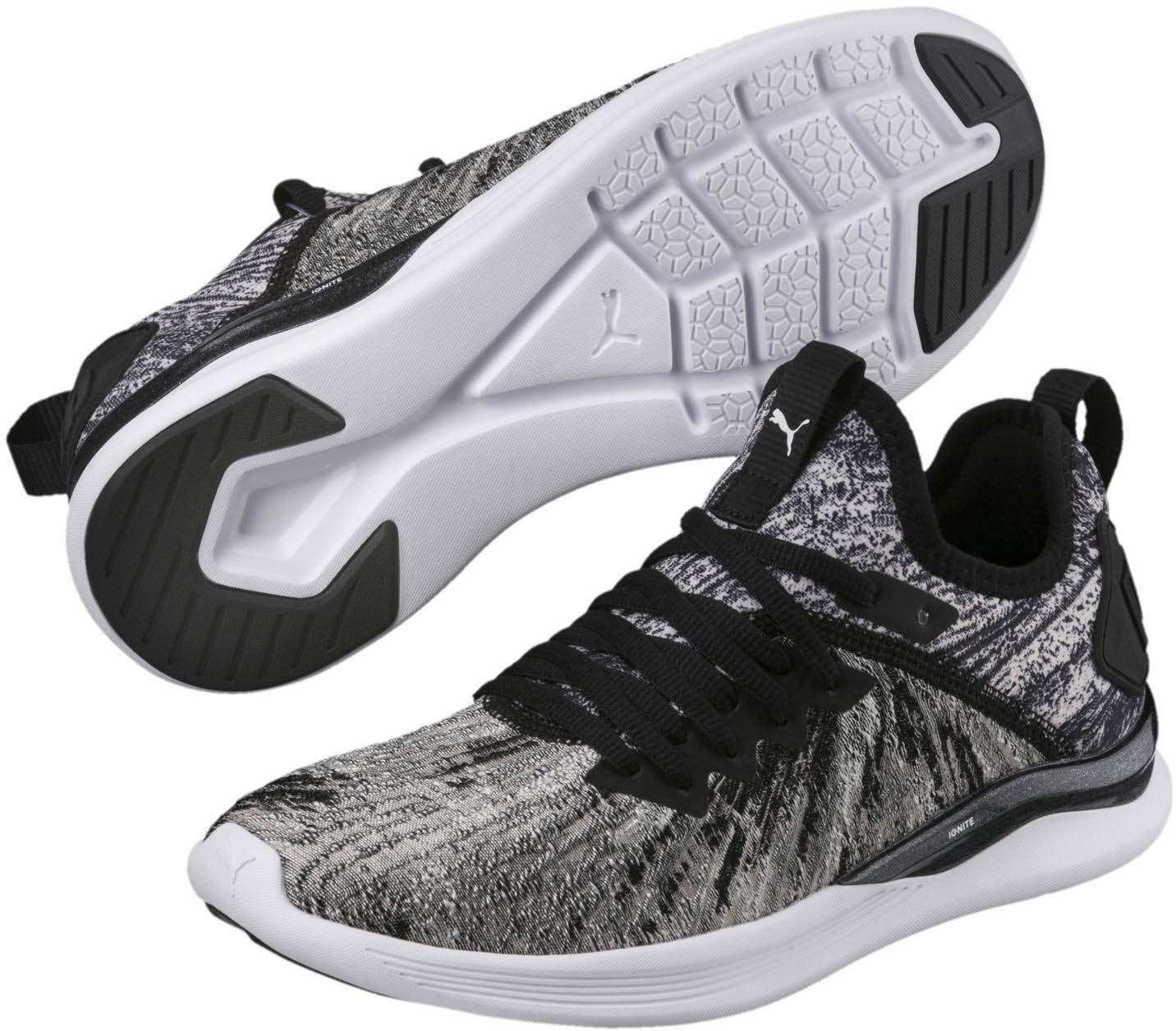 PUMA Women's Ignite Flash Geo Sneaker B078C8CN5K 5.5 M US|Puma Black-puma White