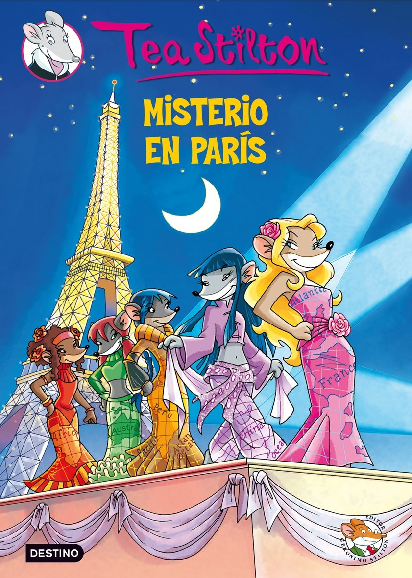 Resultado de imagen de tea stilton misterio en paris