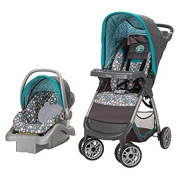 Amazon.com : DISNEY WINNIE THE POOH INFANT CAR SEAT STROLLER TRAVEL SYSTEM : Baby