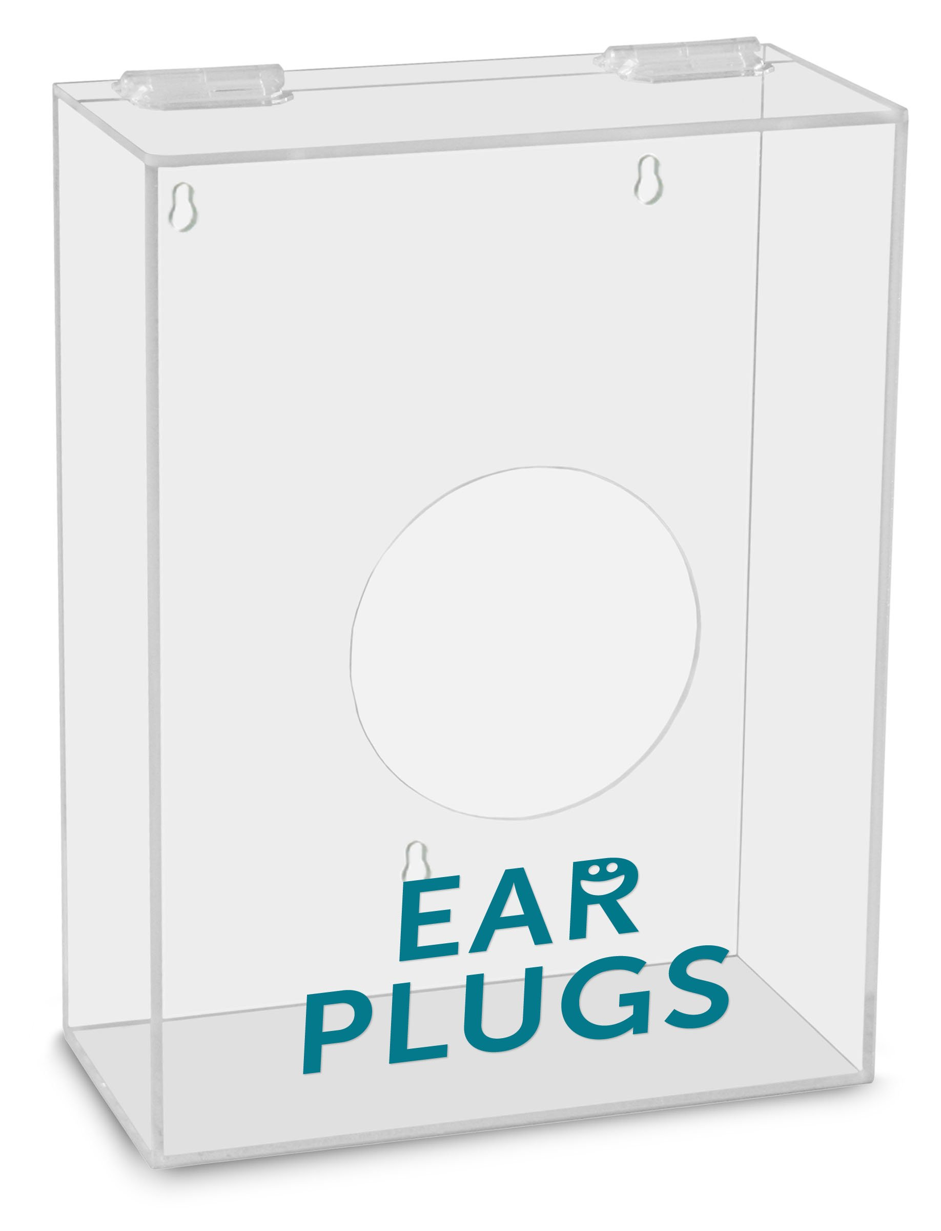 TrippNT 51320 Ear Plugs Labeled Small Apparel Dispenser, 9'' Width x 12'' Height x 4'' Depth