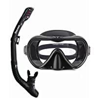 STARSEA Diving Snorkeling Kit for Adults and Kids Snorkel Set for Swimming and Scuba Diving, Anti Leak Dry Top Snorkel…