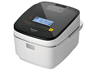 Panasonic SR-AFG186 10 Cup (Uncooked) Induction Heating System Rice Cooker & Multi-Cooker, 1.8 L, White
