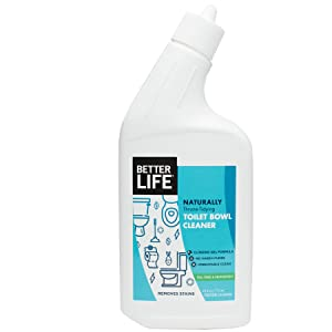 Better Life Natural Toilet Bowl Cleaner, 24 Ounces, 24212