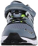 Saucony Boys' Zealot 2 A/C Running Shoe, Grey, 10.5