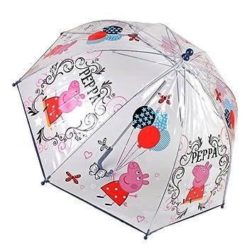 Paraguas Peppa Pig burbuja manual 45cm