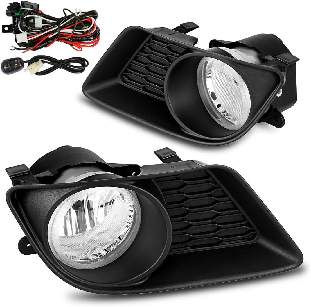 AUTOSAVER88 Fog Lights H10 12V 42W Halogen Lamp Fit for 09-12 Dodge Ram 1500//2500// 3500 //Pickup Truck