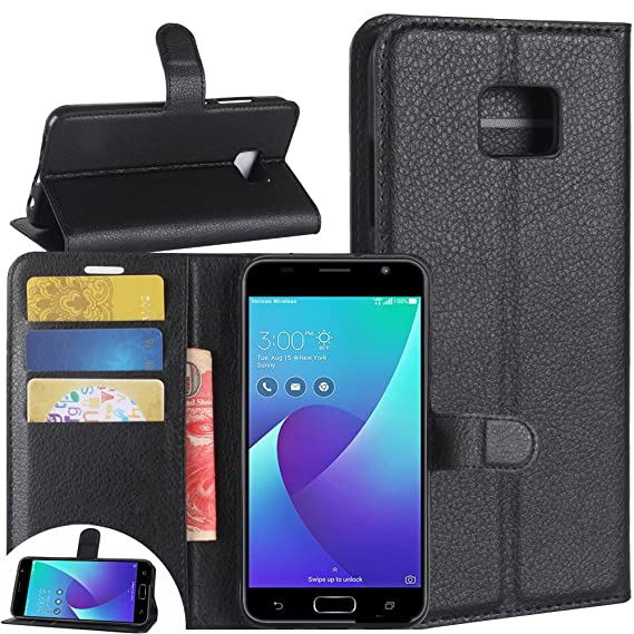 newest 80e56 c178a Amazon.com: Asus Zenfone V Wallet Case, FARRED360 Premium PU Leather ...
