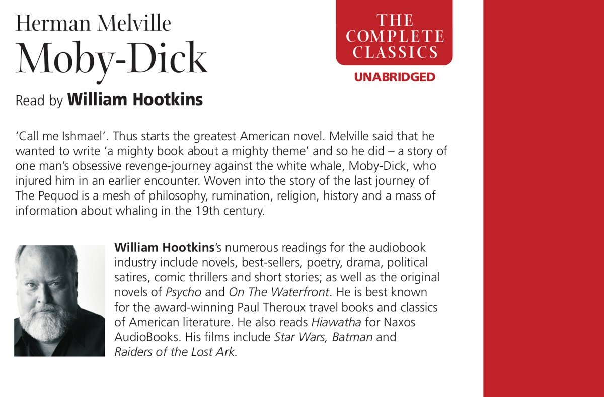 Moby Dick (Naxos AudioBooks)