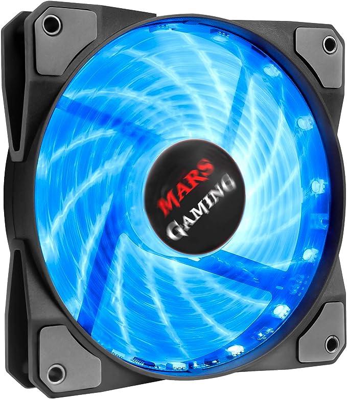 Mars Gaming MFRGB, Ventilador para Ordenador, Ultrasilencioso, RGB ...