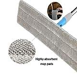 """24"""" Microfiber Mop Heavy Duty Floor Mop Aluminum"""