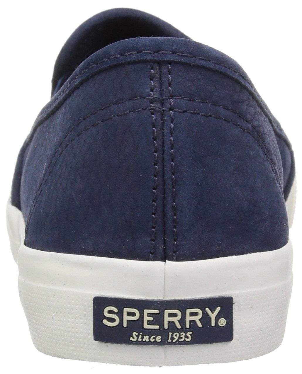 Sperry Top-Sider Women's Seaside Washable Sneaker B078223NMX 6.5 B(M) US Navy