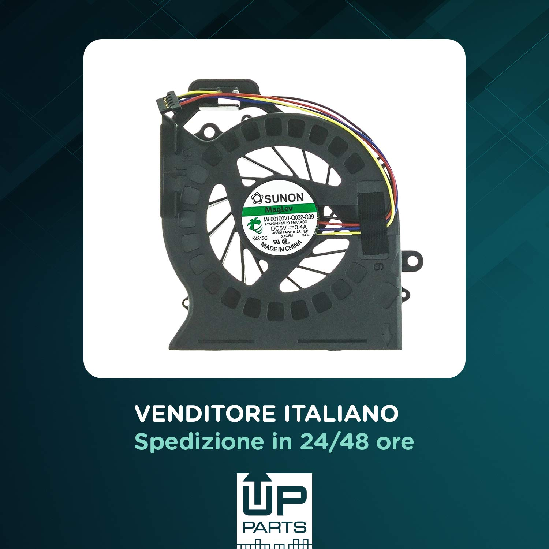 UPTOWN Up Parts® up-fnh003 - Ventiladores Notebook para HP ...