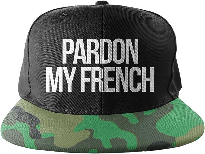 Pardon my French Camuflaje Cool Swag Hip Hop impresión Snapback ...