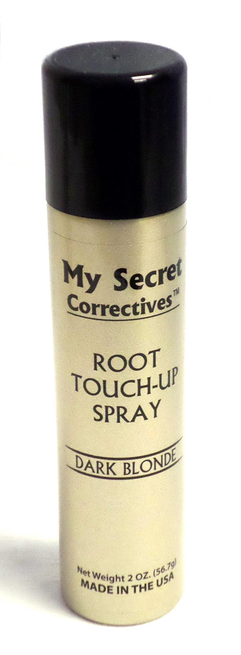 My Secret Correctives Root Touch-Up Spray 2 oz - Dark Blonde