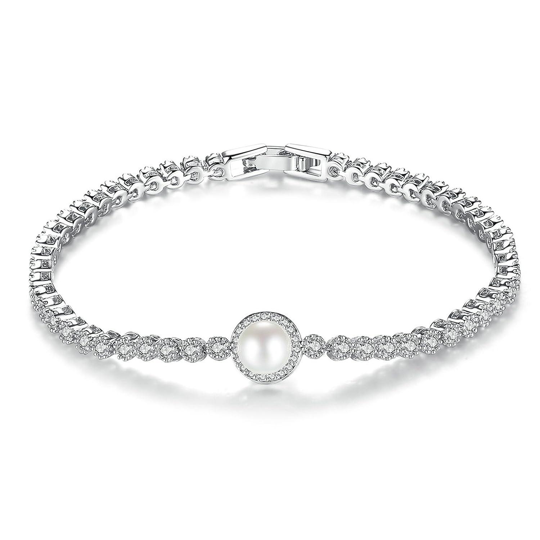 Aooaz Gold Plated Bracelet Women Girl Circle Bangle Bracelet Wedding Birthday Gift