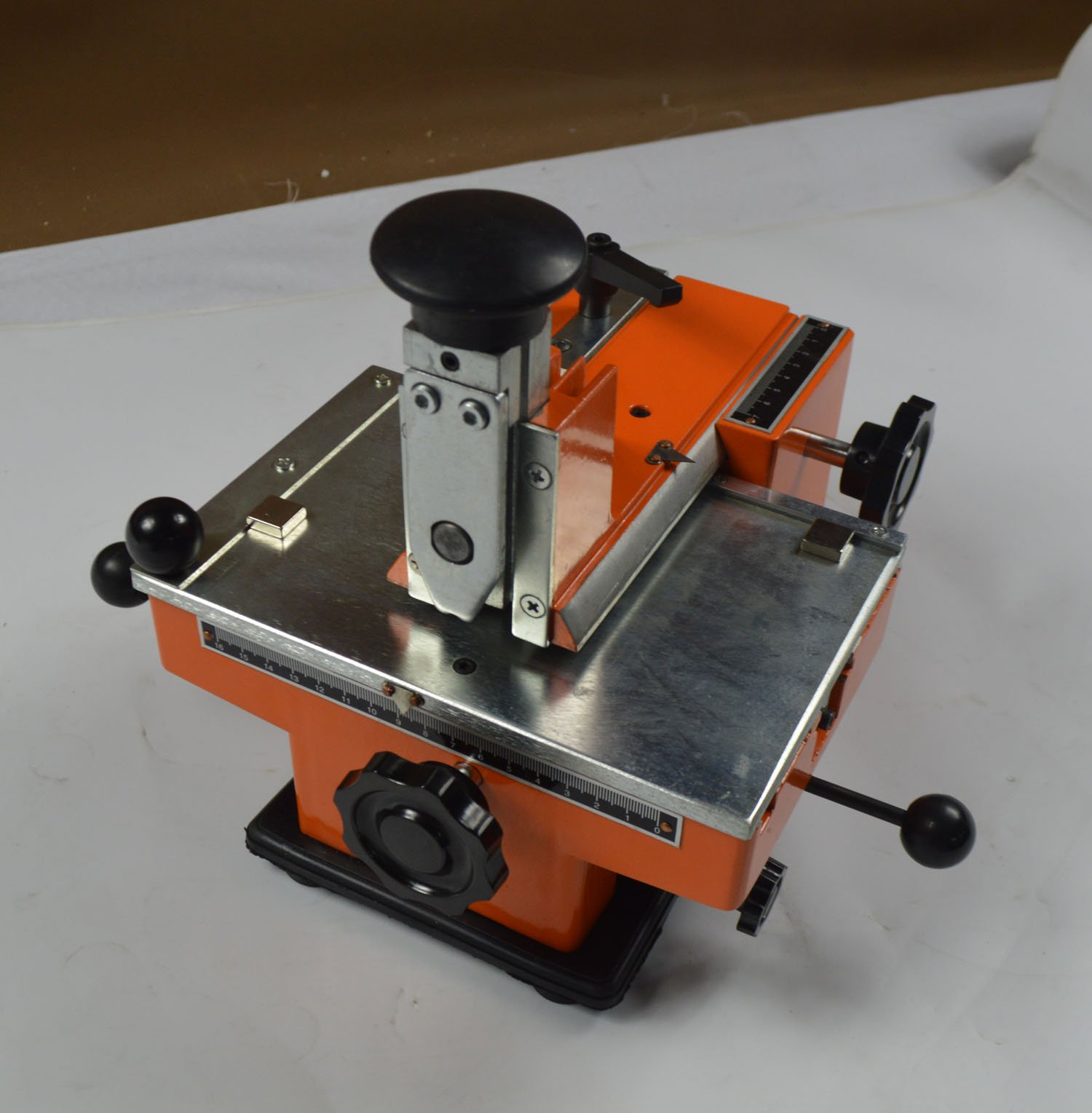 Brand New Semi-automatic Sheet Embosser Metal Stamping Printer Mark Machine by A+