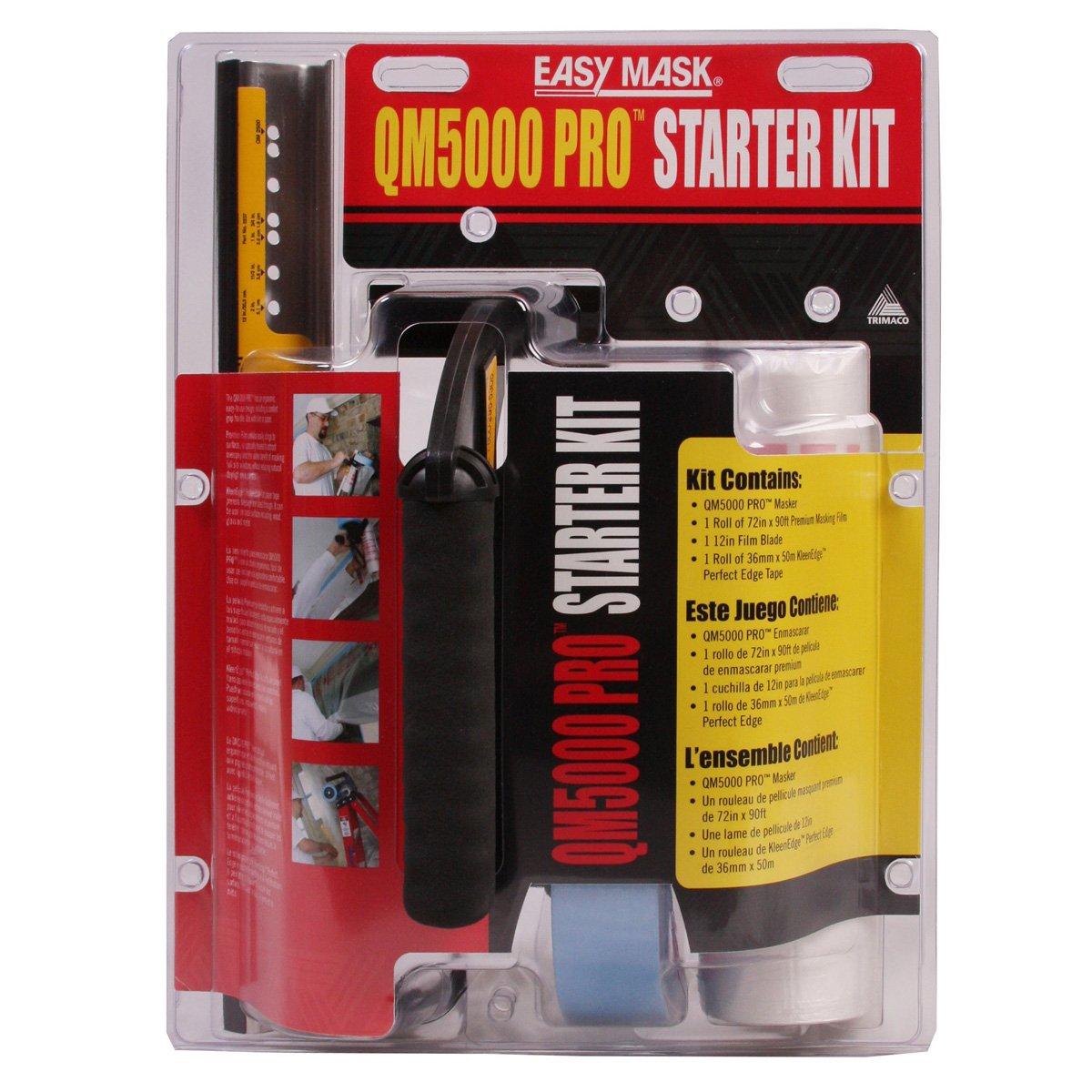 Amazon.com: Trimaco Easy Mask QM5000 Pro Starter Masking Kit: Home Improvement