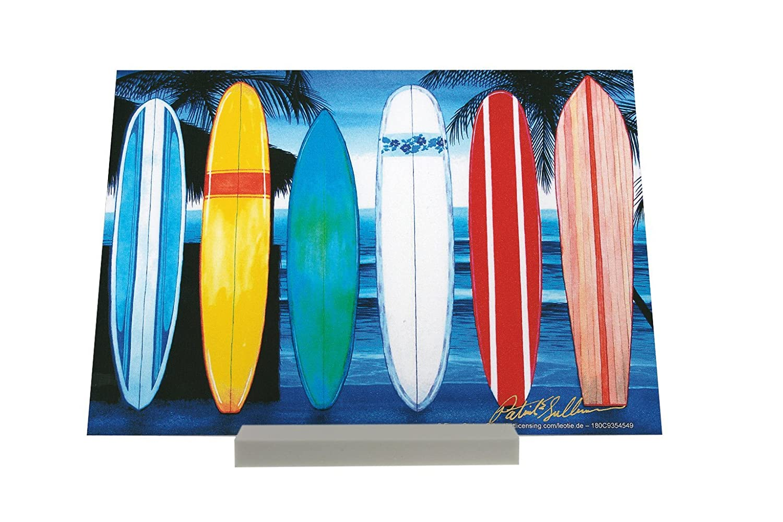 Soporte Fotografias Diversión Tablas de surf en la playa Letrero Decoración: Amazon.es: Hogar
