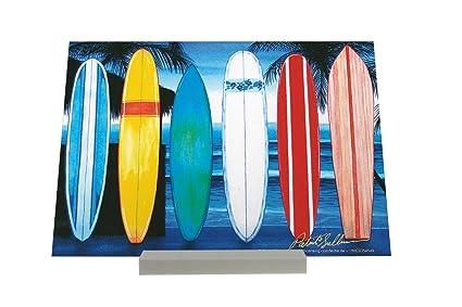 Soporte Fotografias Diversión Tablas de surf en la playa Letrero Decoración