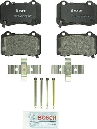 Rear Brake Rotors /& Ceramic Pads 2008-2012 2013 2014 Cadillac CTS Chevy Camaro