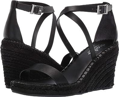 b636438e5 CHARLES BY CHARLES DAVID Women s Nola Wedge Sandal Black 5 ...