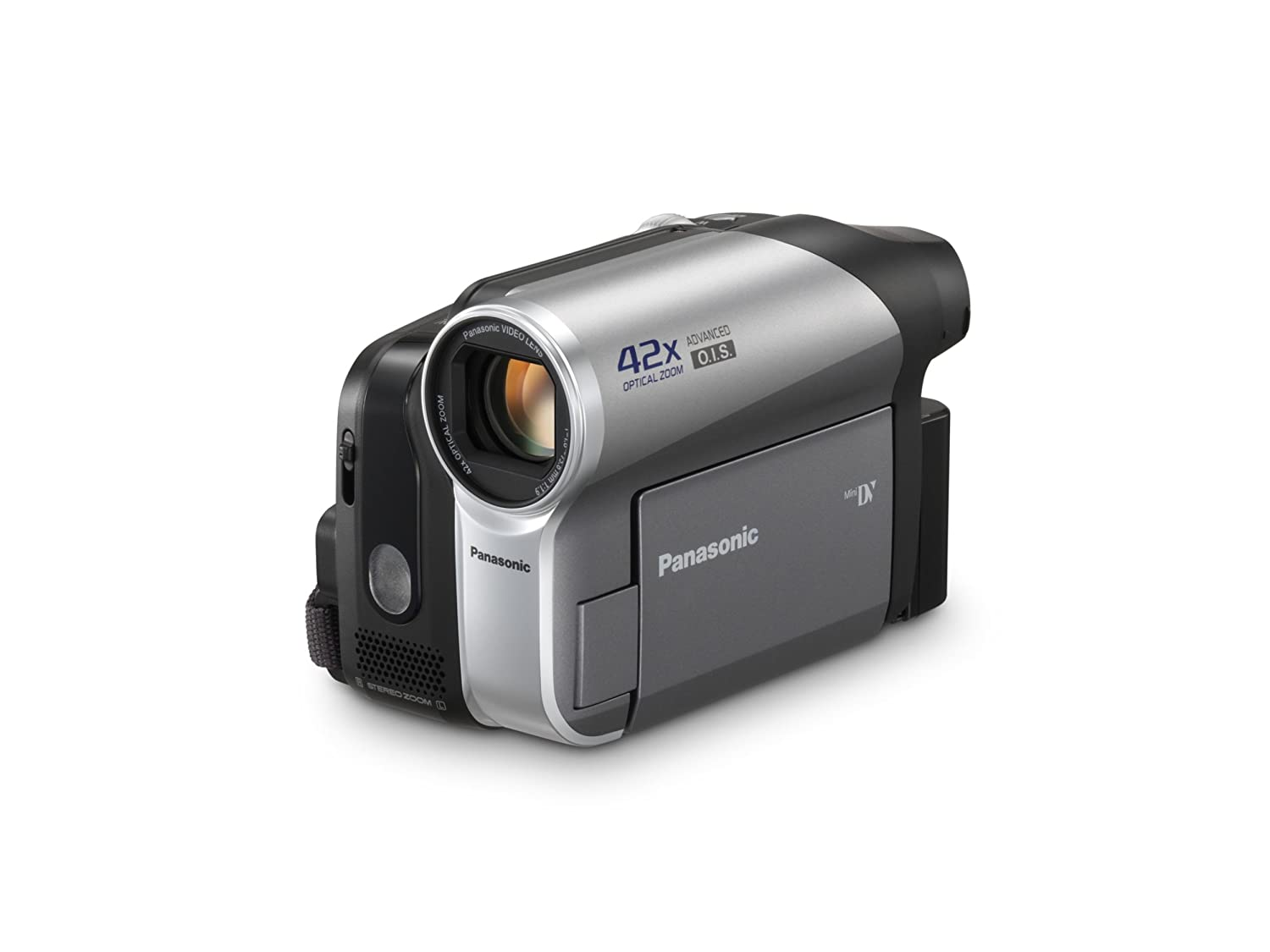 amazon com panasonic pv gs90 minidv camcorder with 42x optical rh amazon com Nikon 42X Optical Zoom Nikkor Glass Lens Panasonic HDD 42X Optical Zoom