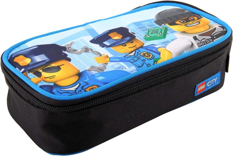 LEGO Bags Estuche, Police Chopper (Azul) - 400806473: Amazon.es: Equipaje