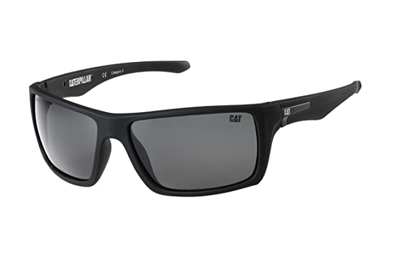 Caterpillar Herren Sonnenbrille schwarz schwarz siZ2D