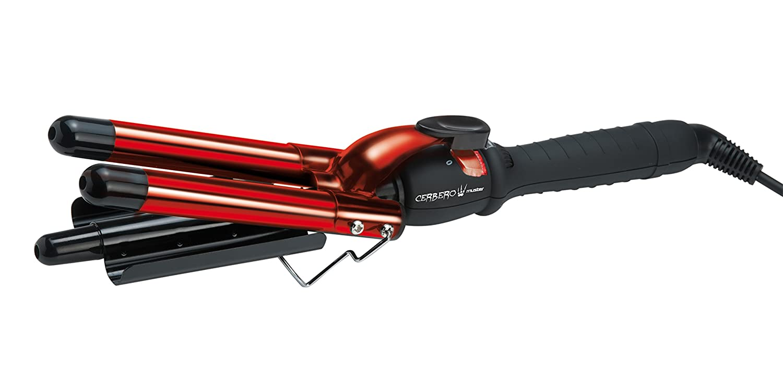 Muster cerbero Professional rizador de pelo Triple 210 °C 28 mm: Amazon.es: Electrónica