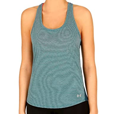 Image Unavailable. Image not available for. Colour  Womens Under Armour  Threadborne Run Mesh Tank ... 975e397c9d