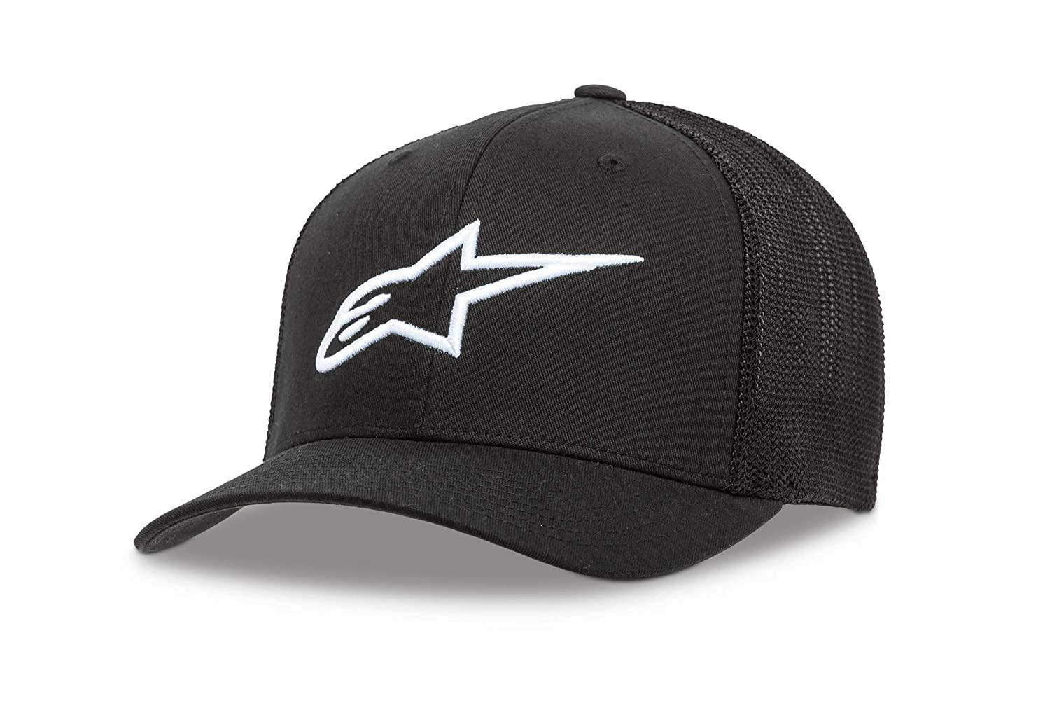 One Size 1W38-81200 Black//White Alpinestars Damen Hat Womens Ageless Trucker