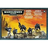 Warhammer 40k 40000 Space Marine Scout squad with Sniper Rifles