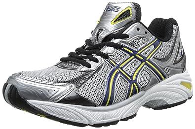 ASICS Men's Gel Fortitude 3 Running Shoe,Silver/Navy/Black,7 M