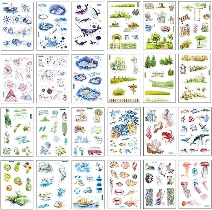 Gr/ö/ße 36 x 30 cm Wallario Ordnerr/ücken Sticker K/ühe im Sommer auf der Weide in Premiumqualit/ät passend f/ür 6 breite Ordnerr/ücken