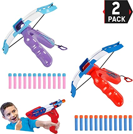 SLING SHOT TOY WITH FOAM BALLS SLINGSHOT BOW CATAPULT KIDS GAME OR EXECUTIVE TOY